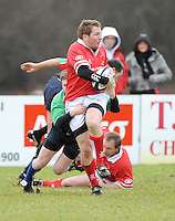 Jonny Bell in action during the charity match between the Ulster 1999 XV and a Wooden Spoon Select XV at Shaw's Bridge Belfast.  Mandatory Credit - Photo : Oliver McVeigh