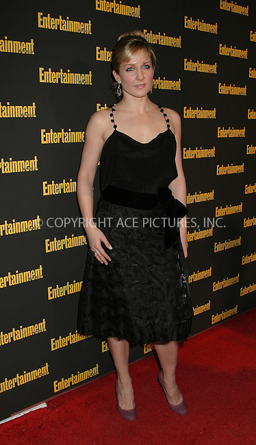 WWW.ACEPIXS.COM . . . . . ....NEW YORK, FEBRUARY 27, 2005....Amy Carlson at Entertainment Weekly's Academy Awards party at Elaine's.....Please byline: ACE009 - ACE PICTURES.. . . . . . ..Ace Pictures, Inc:  ..Philip Vaughan (646) 769-0430..e-mail: info@acepixs.com..web: http://www.acepixs.com