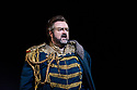 "PHOTOS ARE EMBARGOED UNTIL 19:30 28TH SEPTEMBER 2017.  English National Opera presents Verdi's ""Aida"", directed by Phelim McDermott, at the London Coliseum. Picture shows: Gwyn Hughes Jones (Radames)"
