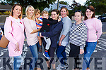 Parents waiting for their junior infants to finish their first day in Ardfert NS on Monday<br /> L-r, Jessica Boylan, Norma and Colin O&rsquo;Sullivan, Dean and Sinead Power, Sinead Lawlor, Gemma O&rsquo;Mahoney and Helena Clifford.