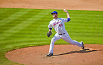 23 February 2013: New York Mets' pitcher Darin Gorski on the mound during a Spring Training Game against the Washington Nationals at Tradition Field in Port St. Lucie, Florida. The Mets defeated the Nationals 5-3 in their Grapefruit League Opening Day game. Mandatory Credit: Ed Wolfstein Photo *** RAW (NEF) Image File Available ***
