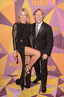 BEVERLY HILLS, CA - JANUARY 7: Nadia Comaneci, Bart Conner at the HBO Golden Globes After Party, Beverly Hilton, Beverly Hills, California on January 7, 2018. <br /> CAP/MPI/DE<br /> &copy;DE//MPI/Capital Pictures