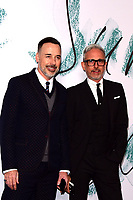 www.acepixs.com<br /> <br /> June 28 2017, London<br /> <br /> David Furnish (L) and Patrick Cox arriving at The Serpentine Galleries Summer Party at The Serpentine Gallery on June 28, 2017 in London, England. <br /> <br /> By Line: Famous/ACE Pictures<br /> <br /> <br /> ACE Pictures Inc<br /> Tel: 6467670430<br /> Email: info@acepixs.com<br /> www.acepixs.com