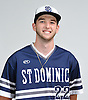 Kyle Young of St. Dominic poses for a portrait during Newsday's All-Long Island baseball photo shoot at company headquarters on Thursday, June 16, 2016.