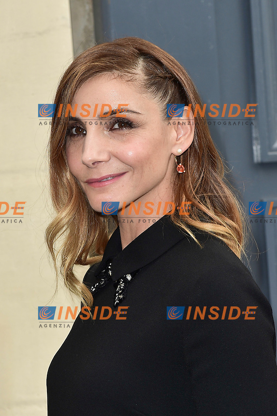 Clotilde Courau <br /> Dior fashion show arrivals - Paris - 30/09/2016
