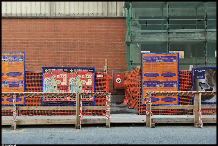 Bonifiche e demolizioni nell'area dell'ex metallurgica piemontese in via Fossata. Novembre 2012