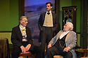 London, UK. 11.09.2012. Hindle Wakes, written by Stanley Houghton, directed by Bethan Dear and produced by Jamil Jivanjee, opens at the Finborough Theatre. It is the play's first London revival in 30 years. Picture shows: Graham O'Mara (as Alan Jeffcote), Richard Durden (as Nathaniel Jeffcote), Sidney Livingstone (as Sir Timothy Farrar).  Photo credit: Jane Hobson