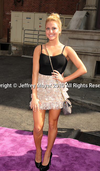 HOLLYWOOD, CA. - October 24: Cassie Scerbo arrives at Variety's 4th Annual Power of Youth event at Paramount Studios on October 24, 2010 in Hollywood, California.