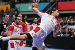 Mahmoud Gharbi. TUNISIA vs MONTENEGRO: 27-25 - Preliminary Round - Group A