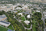 Campus Aerials.Day at BYU.September 22, 2004.Photography by Mark A. Philbrick