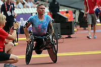 David Weir wins the mens T54 800 metres during the Muller Anniversary Games at The London Stadium on 9th July 2017