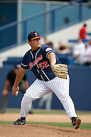 Sean Urena of the Cal State Fullerton Titans during a game against the Rice Owls at Goodwin Field on March 4, 2007 in Fullerton, California. (Larry Goren/Four Seam Images)