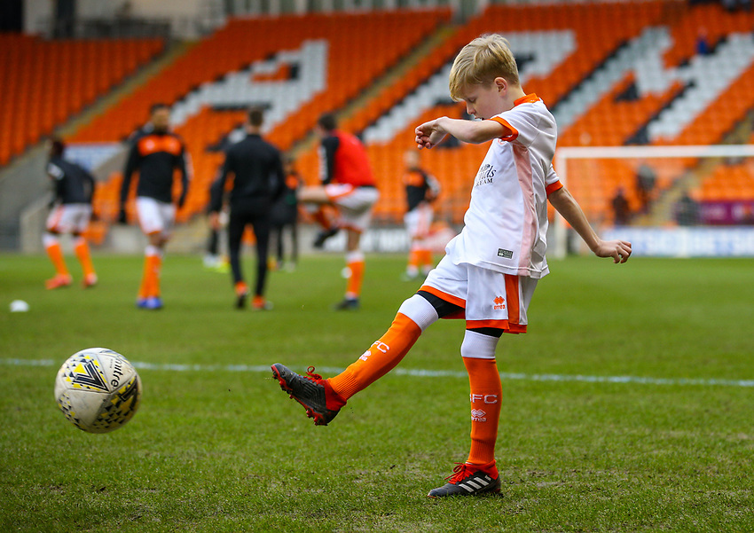Mascot<br /> <br /> Photographer Alex Dodd/CameraSport<br /> <br /> The EFL Sky Bet League One - Blackpool v Shrewsbury Town - Saturday 19 January 2019 - Bloomfield Road - Blackpool<br /> <br /> World Copyright © 2019 CameraSport. All rights reserved. 43 Linden Ave. Countesthorpe. Leicester. England. LE8 5PG - Tel: +44 (0) 116 277 4147 - admin@camerasport.com - www.camerasport.com