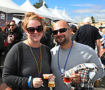 Emily and Fadi during the Beer and Chili Festival at the Grand Sierra Resort in Reno, Nevada on Saturday, Oct. 21, 2017.