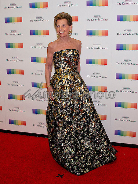 Adrienne Arsht arrives for the formal Artist's Dinner honoring the recipients of the 39th Annual Kennedy Center Honors hosted by United States Secretary of State John F. Kerry at the U.S. Department of State in Washington, D.C. on Saturday, December 3, 2016. The 2016 honorees are: Argentine pianist Martha Argerich; rock band the Eagles; screen and stage actor Al Pacino; gospel and blues singer Mavis Staples; and musician James Taylor. Photo Credit: Ron Sachs/CNP/AdMedia