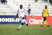 Alexander Gonzalez. Panama defeated Jamaica, 1-0, during the third place game of the CONCACAF Men's Under 17 Championship at Catherine Hall Stadium in Montego Bay, Jamaica.