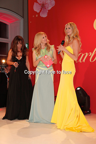 Simone Thomalla , Frauke Ludowig , Elle Macpherson at the Mon Cheri Barbara Day at the Schloss Nymphenburg in munich, 04.12.2012..Credit: Vivi Simon/face to face