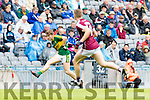 Niall Collins Kerry in action against  Galway in the All Ireland Minor Football Final in Croke Park on Sunday.