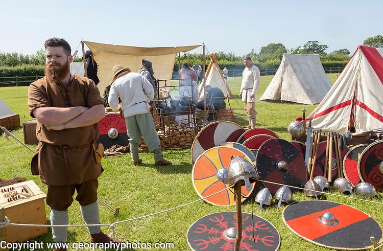 Stonham Barns History Alive event, Living History,  Suffolk, England, UK 2019
