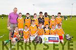 Gaelscoil Mhic Easmainn  at the Cumann na mBunscol Hurling finals at Abbeydorney GAA on Thursday