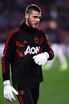 UEFA Champions League 2018/2019.<br /> Quarter-finals 2nd leg.<br /> FC Barcelona vs Manchester United: 3-0.<br /> David de Gea.