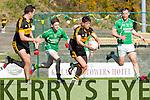 Micheal Burns  Dr Crokes bears down on goal against  Milltown in Killarney on Sunday