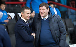 Ross County v St Johnstone&hellip;18.02.17     SPFL    Global Energy Stadium, Dingwall<br />Jim McIntyre and Tommy Wright before kick off<br />Picture by Graeme Hart.<br />Copyright Perthshire Picture Agency<br />Tel: 01738 623350  Mobile: 07990 594431