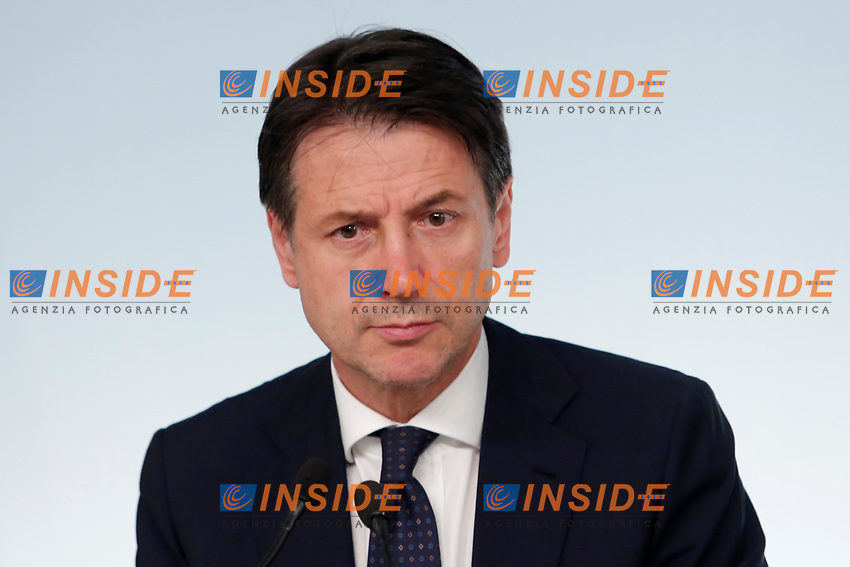 Giuseppe Conte<br /> Roma 15/10/2018. Consiglio dei Ministri sulla Manovra Economica DEF.<br /> Rome October 15th 2018. Minister's Cabinet about the Economic and Financial Document.<br /> Foto Samantha Zucchi Insidefoto