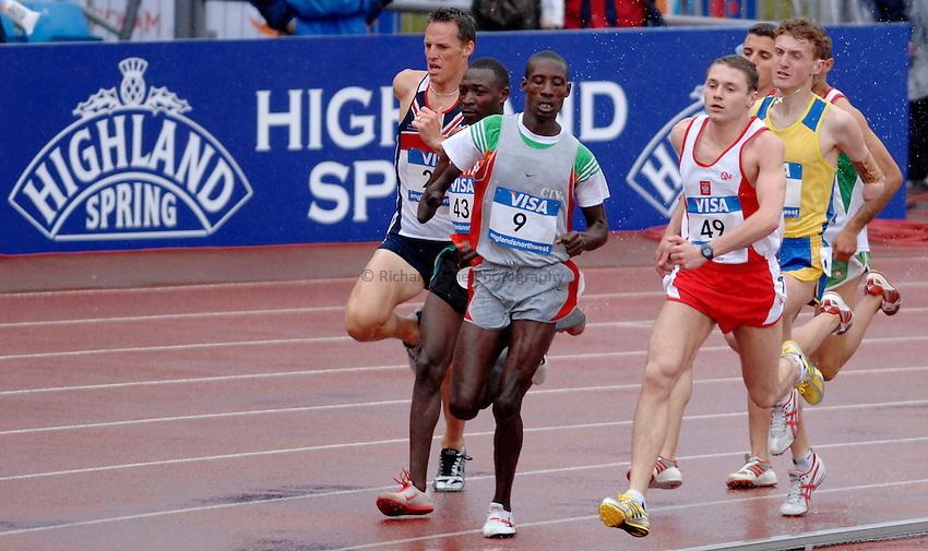Photo: Richard Lane..VISA Paralympic World Cup 2007. Athletics. 13/05/2007. .
