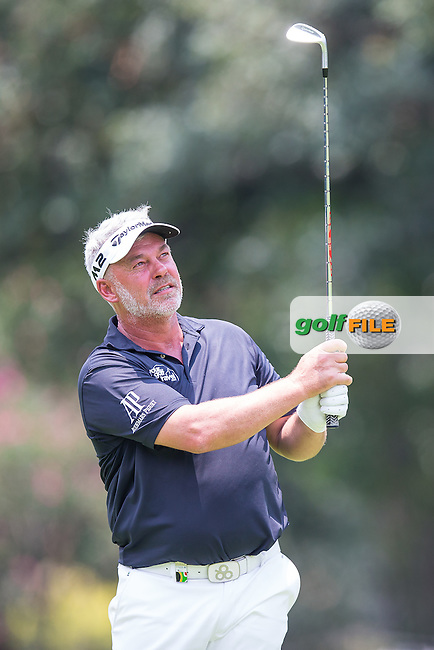 Darren Clarke (NIR) during the 1st round of the BMW SA Openhosted by the City of Ekurhulemi, Gauteng, South Africa. 12/01/2017<br /> Picture: Golffile<br /> <br /> <br /> All photo usage must carry mandatory copyright credit (&copy; Golffile) Picture: Golffile | Tyrone Winfield