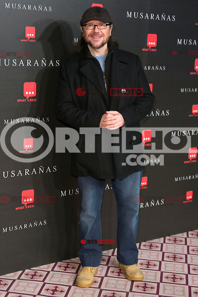 "Santiago Segura attend the Premiere of the movie ""Musaranas"" in Madrid, Spain. December 17, 2014. (ALTERPHOTOS/Carlos Dafonte) /NortePhoto /NortePhoto.com"