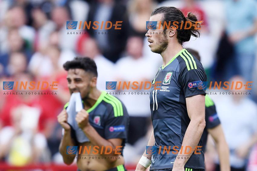 Gareth Bale Wales <br /> Lens 16-06-2016 Stade Bollaert-Delelis Footballl Euro2016 England - Wales / Inghilterra - Galles Group Stage Group B. Foto Matteo Gribaudi / Image Sport / Insidefoto