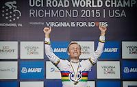 Mads Wurtz Schmidt (DEN) is the new U23 Men TT World Champion<br /> <br /> U23 Men TT<br /> UCI Road World Championships / Richmond 2015
