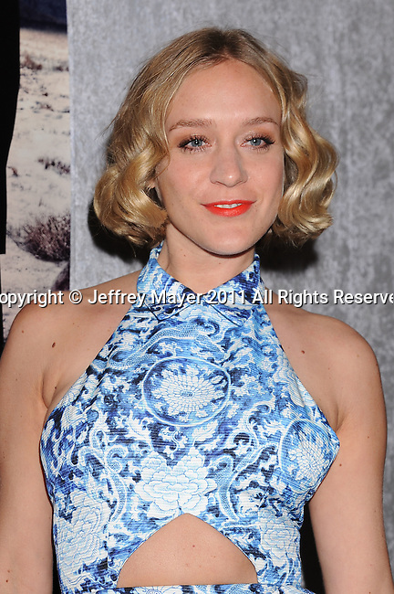 """LOS ANGELES, CA - January 12: Chloe Sevigny attends HBO's """"Big Love"""" Season 5 party at the Directors Guild Of America on January 12, 2011 in Los Angeles, California."""