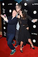 "writer, Mike White, director Miguel Arteta and Salma Hayek<br /> at the premiere of ""Beatriz at Dinner"" as part of Sundance London at the Mayfair Hotel, London. <br /> <br /> <br /> ©Ash Knotek  D3271  01/06/2017"