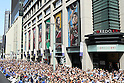 General view, <br /> OCTOBER 7, 2016 :<br /> Japanese medalists of Rio 2016 Olympic and Paralympic Games wave to spectators during a parade from Ginza to Nihonbashi, Tokyo, Japan.<br /> (Photo by Yohei Osada/AFLO SPORT)