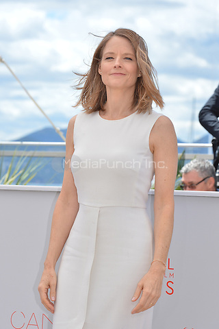 Jodie Forster at the Photocall &laquo;Money Monster` - 69th Cannes Film Festival on May 12, 2016 in Cannes, France.<br /> CAP/LAF<br /> &copy;Lafitte/Capital Pictures<br /> Jodie Forster at the Photocall &acute;Money Monster` - 69th Cannes Film Festival on May 12, 2016 in Cannes, France.<br /> CAP/LAF<br /> &copy;Lafitte/Capital Pictures /MediaPunch ***NORTH AMERICA AND SOUTH AMERICA ONLY***
