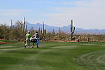 Graeme McDowell (N.IRL) walks down the 11th hole during Day 3 of the Accenture Match Play Championship from The Ritz-Carlton Golf Club, Dove Mountain, Friday 25th February 2011. (Photo Eoin Clarke/golffile.ie)