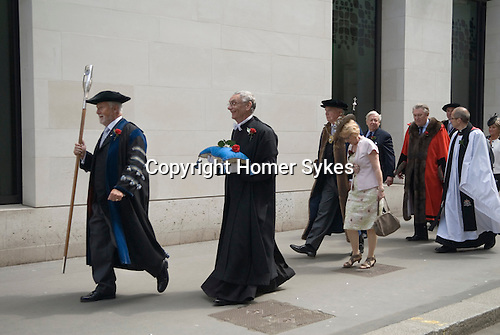Knollys Rose Ceremony, City of London UK.