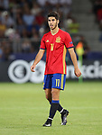 Spain's Marco Assensio in action during the UEFA Under 21 Final at the Stadion Cracovia in Krakow. Picture date 30th June 2017. Picture credit should read: David Klein/Sportimage