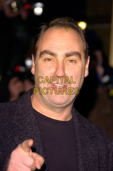 "OLIVER PARKER .The UK Film Premiere of ""St. Trinian's"" held at the Empire Leicester Square, London, England..December 10th 2007.headshot portrait hand pointing director .CAP/CAN.©Can Nguyen/Capital Pictures"
