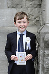 Kevin Culley at the St Mary's Congress Avenue Communion in St.Mary's Church...(Photo credit should read Jenny Matthews www.newsfile.ie)....This Picture has been sent you under the conditions enclosed by:.Newsfile Ltd..The Studio,.Millmount Abbey,.Drogheda,.Co Meath..Ireland..Tel: +353(0)41-9871240.Fax: +353(0)41-9871260.GSM: +353(0)86-2500958.email: pictures@newsfile.ie.www.newsfile.ie.
