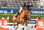 25.09.2015 Barcelon CSIO Barcelona . Picture show Laura Renwick ridding Heliodor Hybris during EL Peridodico Trophy at Real Club de Polo de Barcelona