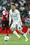 Real Madrid's Kovacic during the XXXVII Bernabeu trophy between Real Madrid and Stade de Reims at the Santiago Bernabeu Stadium. August 15, 2016. (ALTERPHOTOS/Rodrigo Jimenez)