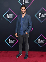 LOS ANGELES, CA. November 11, 2018: Matthew Daddario at the E! People's Choice Awards 2018 at Barker Hangar, Santa Monica Airport.<br /> Picture: Paul Smith/Featureflash