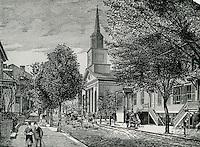 1852 ..Historical..Copy of 1852 drawing..VU Photos.NEG# 743.NRHA# 3232..
