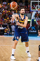 Spain's basketball player Sergio Llull during the  match of the preparation for the Rio Olympic Game at Madrid Arena. July 23, 2016. (ALTERPHOTOS/BorjaB.Hojas) /NORTEPHOTO.COM
