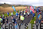 Start of the Valentines 10 mile road race in Tralee on Saturday.