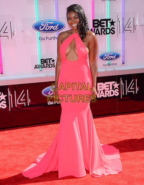 29 June 2014 - Los Angeles, California - Tatyana Ali. Arrivals for the 2014 BET AWARDS held at the Nokia Theater L.A. Live in Los Angeles, Ca. <br /> CAP/ADM/BT<br /> &copy;Birdie Thompson/AdMedia/Capital Pictures