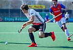 AMSTELVEEN - Boris Burkhardt (Adam)   tijdens  de hoofdklasse competitiewedstrijd hockey heren,  Amsterdam-SCHC (3-1).  COPYRIGHT KOEN SUYK